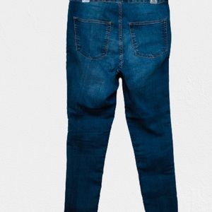 Divided Jeans - Divided high waisted light wash denim.